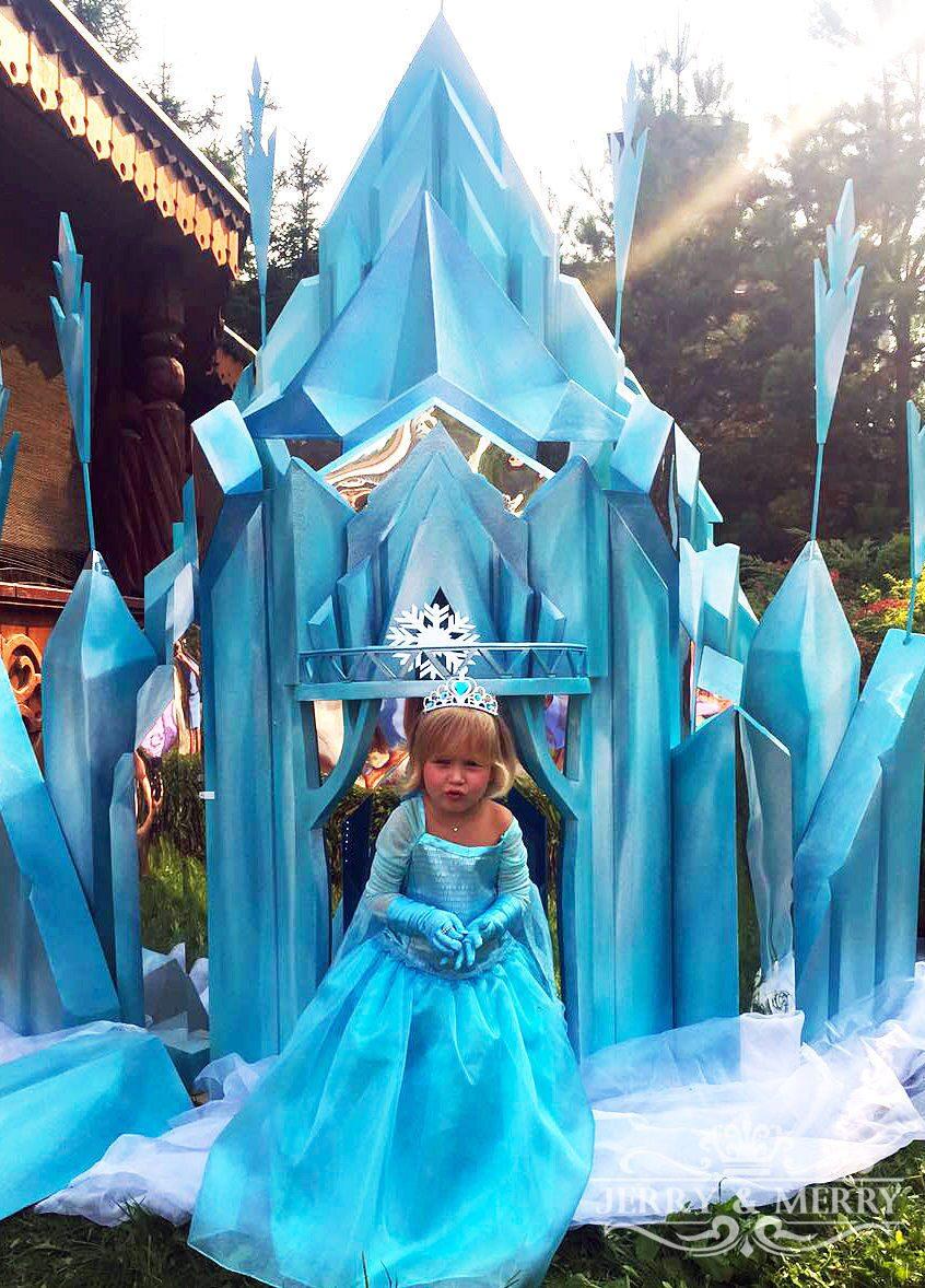 Замок для снежной королевы своими руками 69